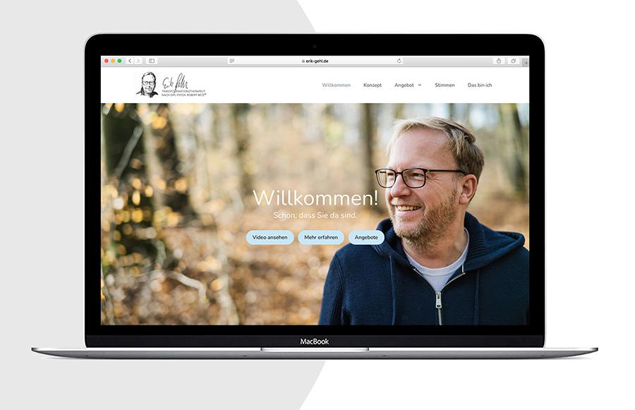 Homepage Erik Gehl